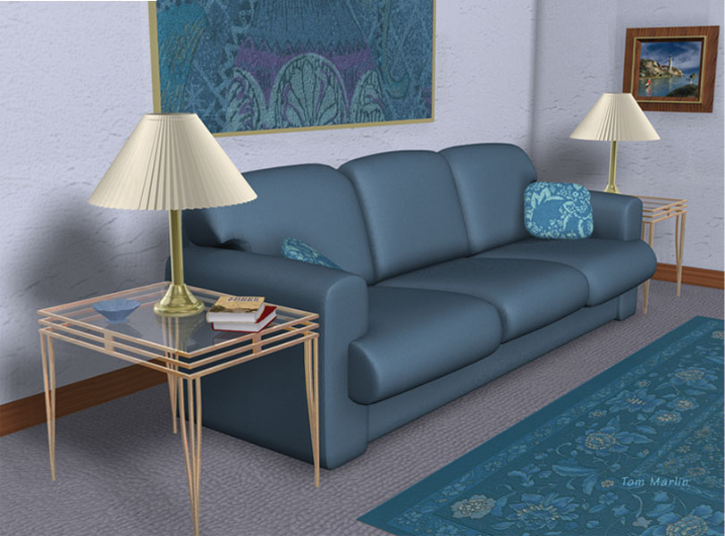 Home Furniture 3D Model