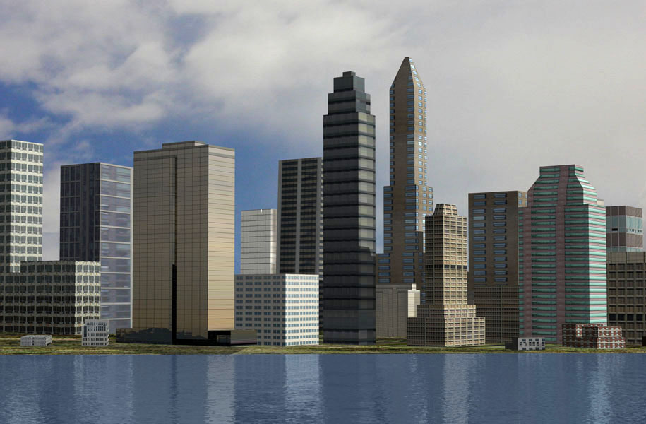 3d Model Skyscrapers Skyscraper 3d Models